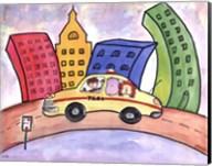 Taxi Cab Fine-Art Print