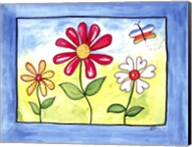 Blue Flower Land Fine-Art Print