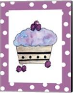 Blueberry Cupcake Fine-Art Print