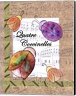 Quatre Coccinelles Fine-Art Print