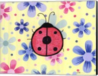 The Funky Flower Ladybug Fine-Art Print