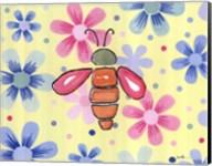 Funky Flower Bee Fine-Art Print
