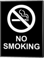 No Smoking - Black and White Fine-Art Print