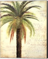 Palms and Scrolls II Fine-Art Print