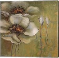 The Green Flowers I Fine-Art Print