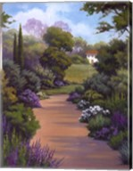 Garden Path I Fine-Art Print