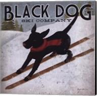 Black Dog Ski Fine-Art Print