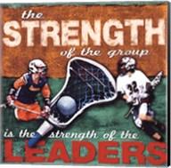 Stregenth- Lacrosse Fine-Art Print