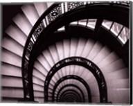Rookery Stairwell - mini Fine-Art Print