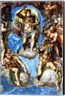 Christ, detail from 'The Last Judgement', in the Sistine Chapel Fine-Art Print