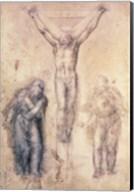 Inv.1895-9-15-509 Recto W.81 Study for a Crucifixion Fine-Art Print