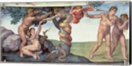 Sistine Chapel Ceiling (1508-12): The Fall of Man, 1510 Fine-Art Print