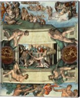 Sistine Chapel Ceiling (1508-12): The Sacrifice of Noah, 1508-10 Fine-Art Print