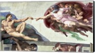 Sistine Chapel Ceiling (1508-12): The Creation of Adam, 1511-12 Fine-Art Print