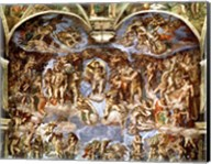Sistine Chapel: The Last Judgement, 1538-41 Fine-Art Print