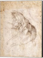 Study for The Creation of Adam Fine-Art Print