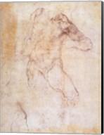 Study of a male nude Fine-Art Print