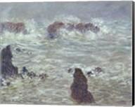 Storm, off the Coast of Belle-Ile, 1886 Fine-Art Print