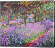 The Artist's Garden at Giverny, 1900 Fine-Art Print