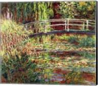 Waterlily Pond: Pink Harmony, 1900 Fine-Art Print