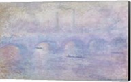 Waterloo Bridge: Effect of the Mist, 1903 Fine-Art Print