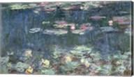 Waterlilies: Green Reflections, 1914-18 Fine-Art Print