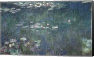 Waterlilies: Green Reflections, 1914-18 Fine-Art Print