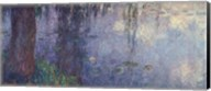 Waterlilies: Morning with Weeping Willows, detail of the left section, 1914-18 Fine-Art Print