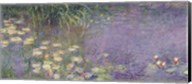 Waterlilies: Morning, 1914-18 (left section) Fine-Art Print