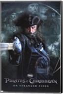 Pirates of the Caribbean 4 - Black Beard Wall Poster