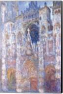 Rouen Cathedral, Blue Harmony, Morning Sunlight, 1894 Fine-Art Print