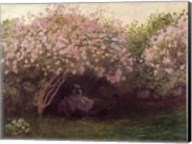 Lilacs, Grey Weather, c.1872-73 Fine-Art Print
