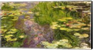 Waterlilies (green horizontal) Fine-Art Print