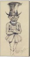 Groom in a top hat, 1857 Fine-Art Print