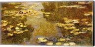 The Lily Pond - yellow Fine-Art Print