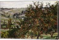 Apple Trees near Vetheuil Fine-Art Print