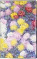 Chrysanthemums, 1897 - vertical Fine-Art Print