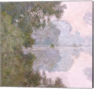 Morning on the Seine, near Giverny, 1896 Fine-Art Print