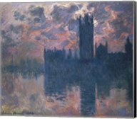 Houses of Parliament, Sunset, 1902 Fine-Art Print