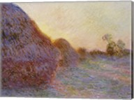 Haystacks Fine-Art Print