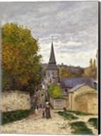 Street in Sainte-Adresse, 1868-70 Fine-Art Print