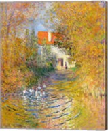 The Duck Pond, 1874 Fine-Art Print