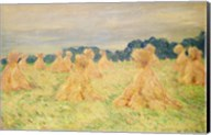The Small Haystacks, 1887 Fine-Art Print