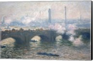Study of Waterloo Bridge at Dusk, 1903 Fine-Art Print
