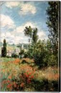 Path through the Poppies, Ile Saint-Martin, Vetheuil, 1880 Fine-Art Print