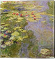 The Waterlily Pond, 1917-19 Fine-Art Print