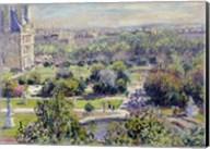 View of the Tuileries Gardens, Paris, 1876 Fine-Art Print