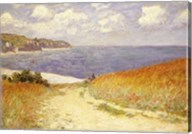 Path in the Wheat at Pourville, 1882 Fine-Art Print