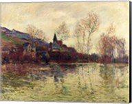 Floods at Giverny, 1886 Fine-Art Print