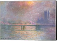 The Thames with Charing Cross bridge, 1903 Fine-Art Print